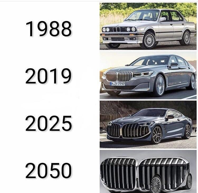 Bmw Kidney Grille History Morphing Youtube
