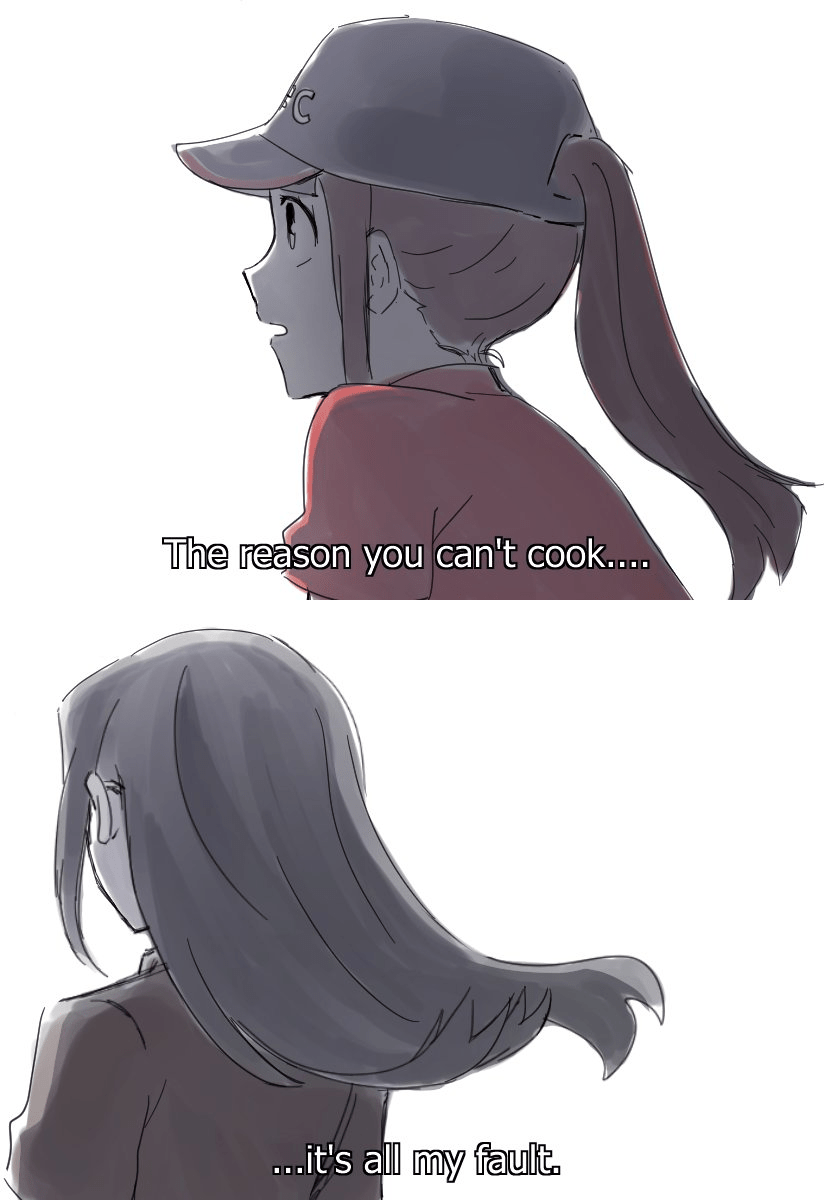 The Reason Why Akko Can T Cook Little Witch Academia Know