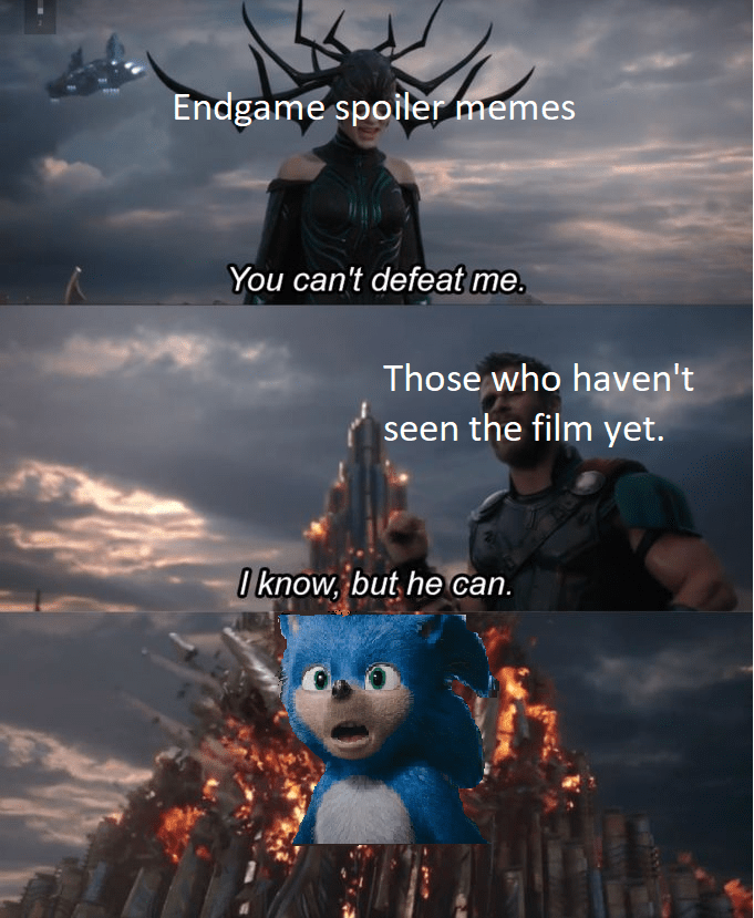 Its Only Good Deed Sonic The Hedgehog 2020 Film Know Your Meme