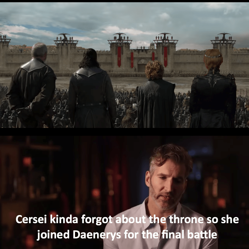 Benioff Shares A Spoiler For Next Episode Dany Kind Of Forgot