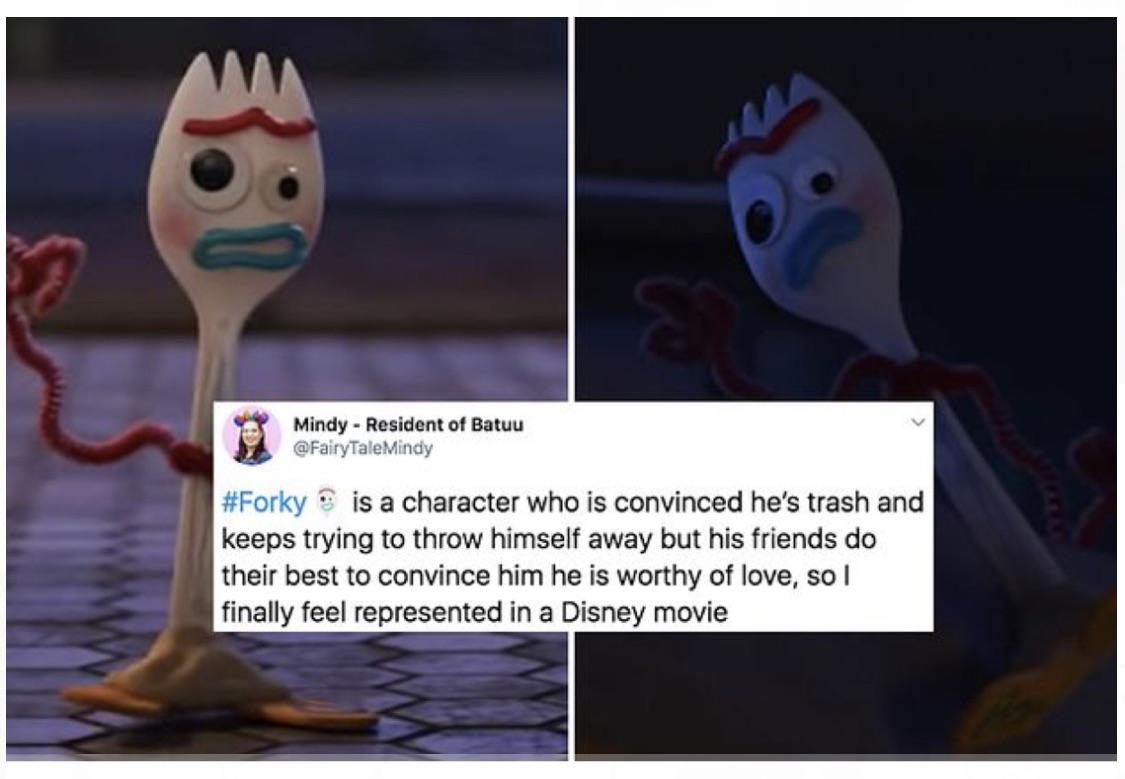 Forky Is A Character Who Is Convinced He S Trash Forky Know