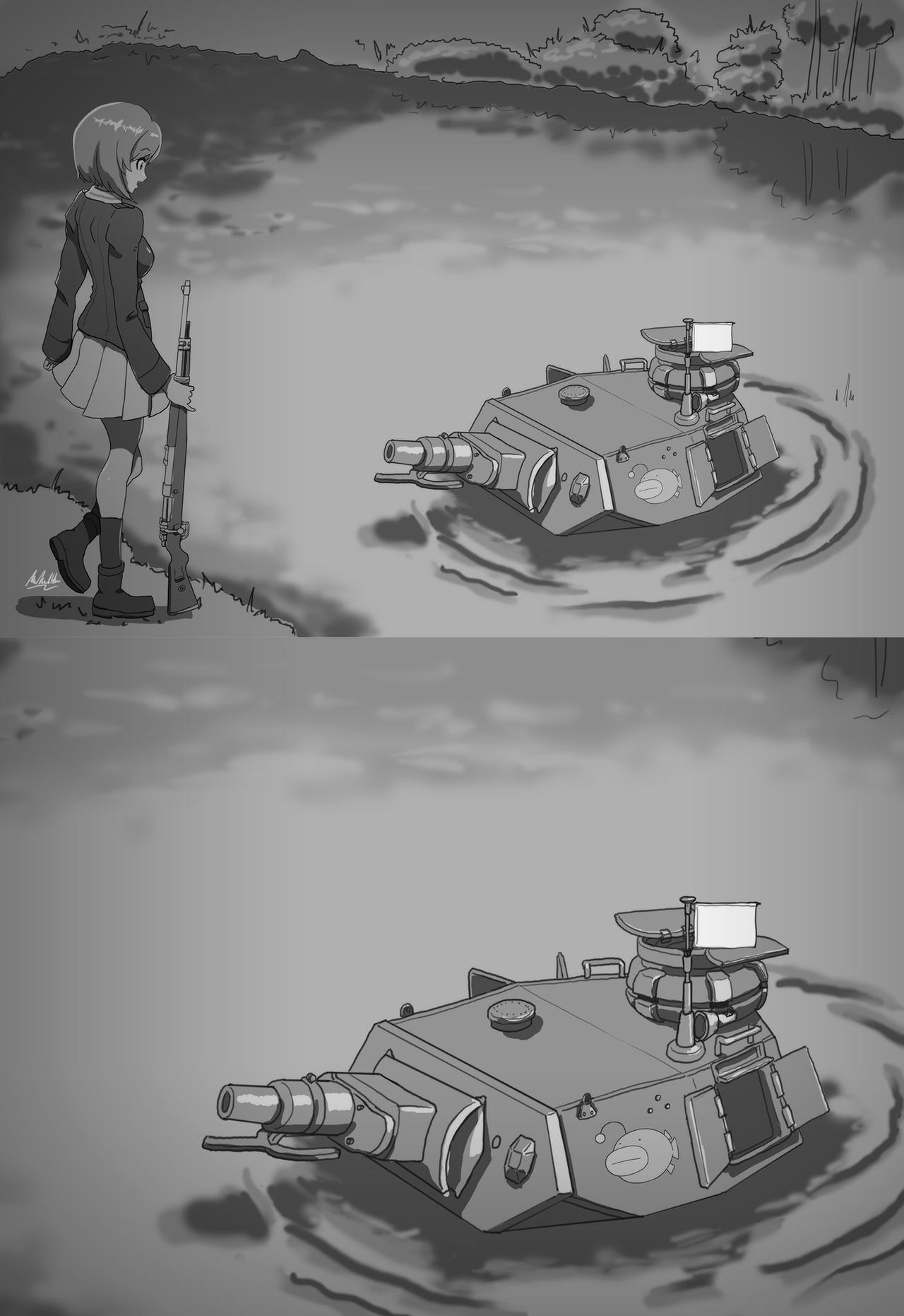 Girls Und Panzer Of The Lake New Template Panzer Of The Lake
