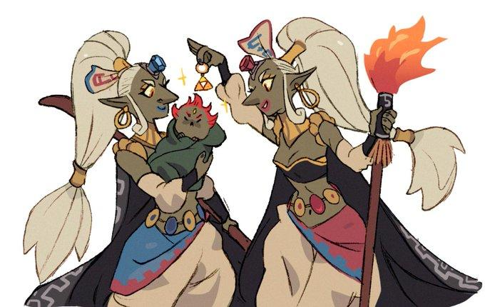 Baby Ganondorf And Witch Moms The Legend Of Zelda Know Your Meme