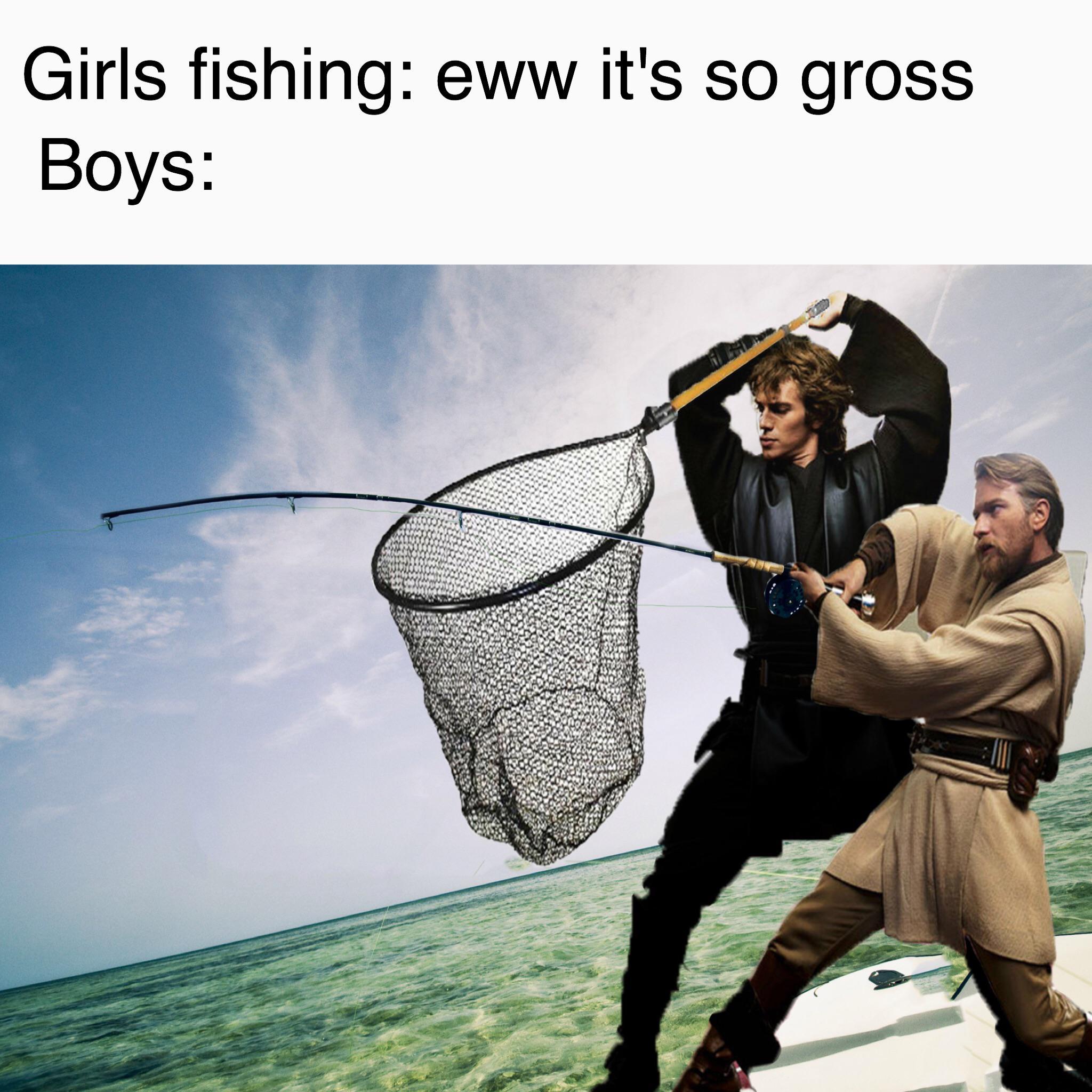 Fish Saber R Prequelmemes Prequel Memes Know Your Meme