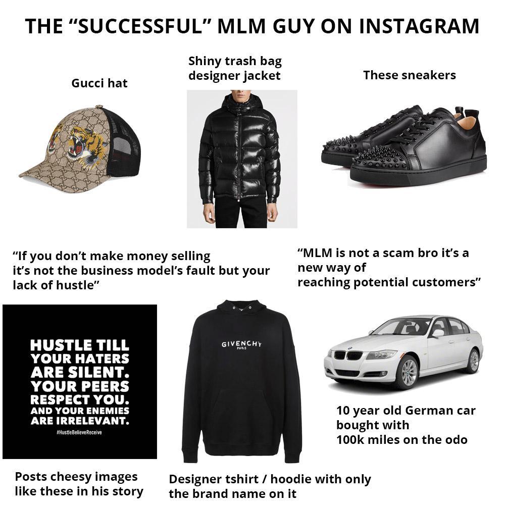 The Successful Multi Level Marketing Guy On Instagram Starter