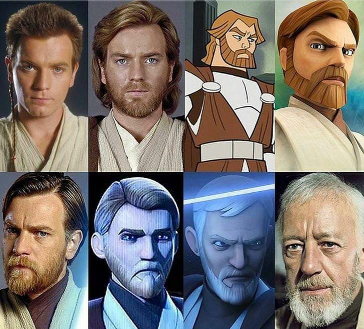 Not Really A Meme But Dang Obi Wan Aged Very Good R