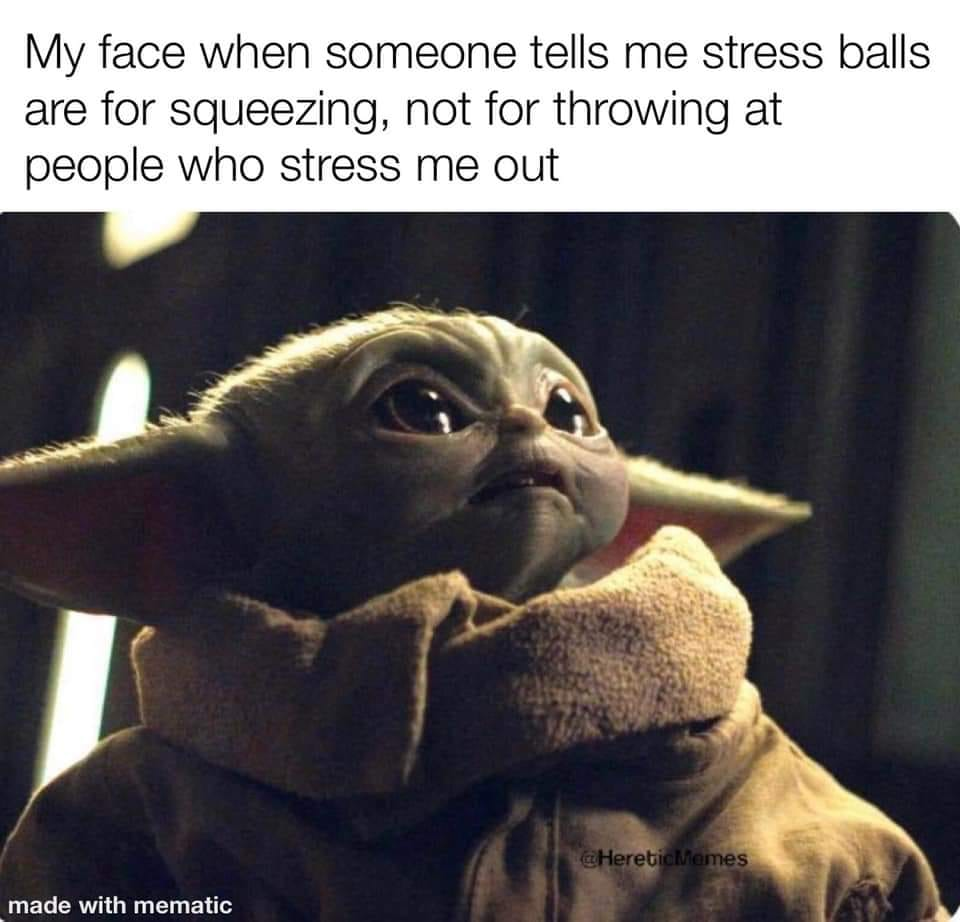 Stress Balls Baby Yoda Know Your Meme