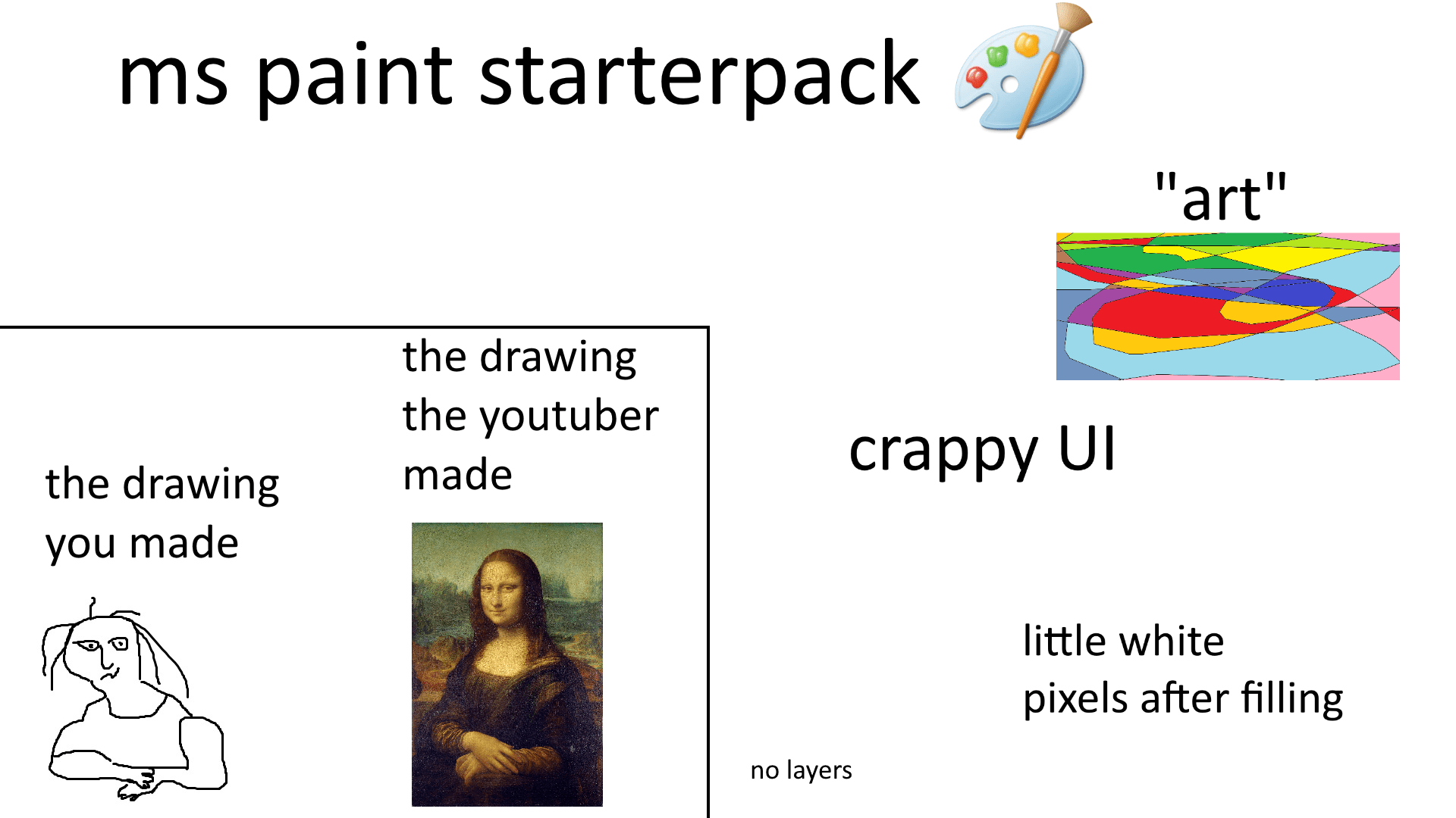 Ms Paint Starterpack R Starterpacks Starter Packs Know Your