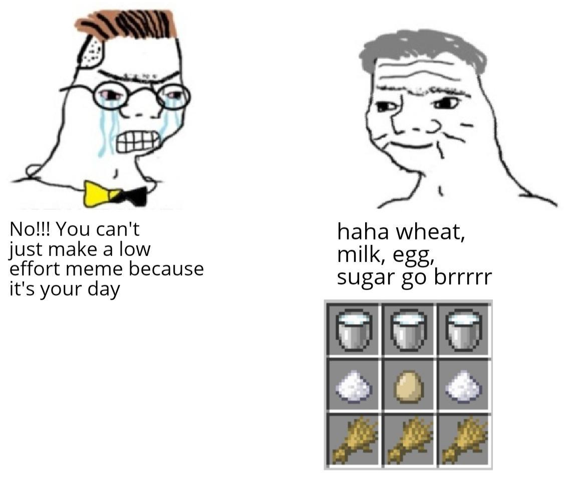 Invest In My No Iq Meme Template Memeeconomy