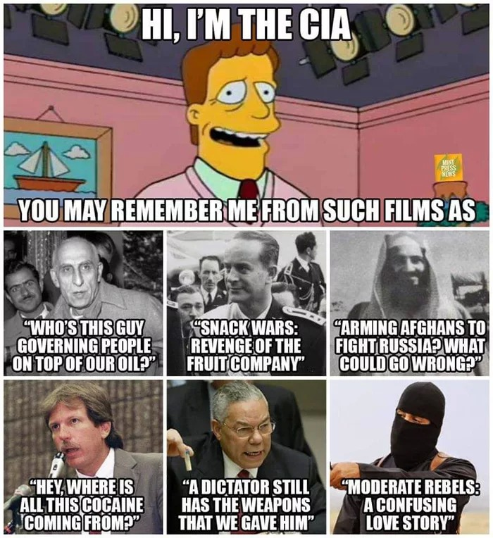 Cia Meme Russian Bounties On U S Troops Know Your Meme