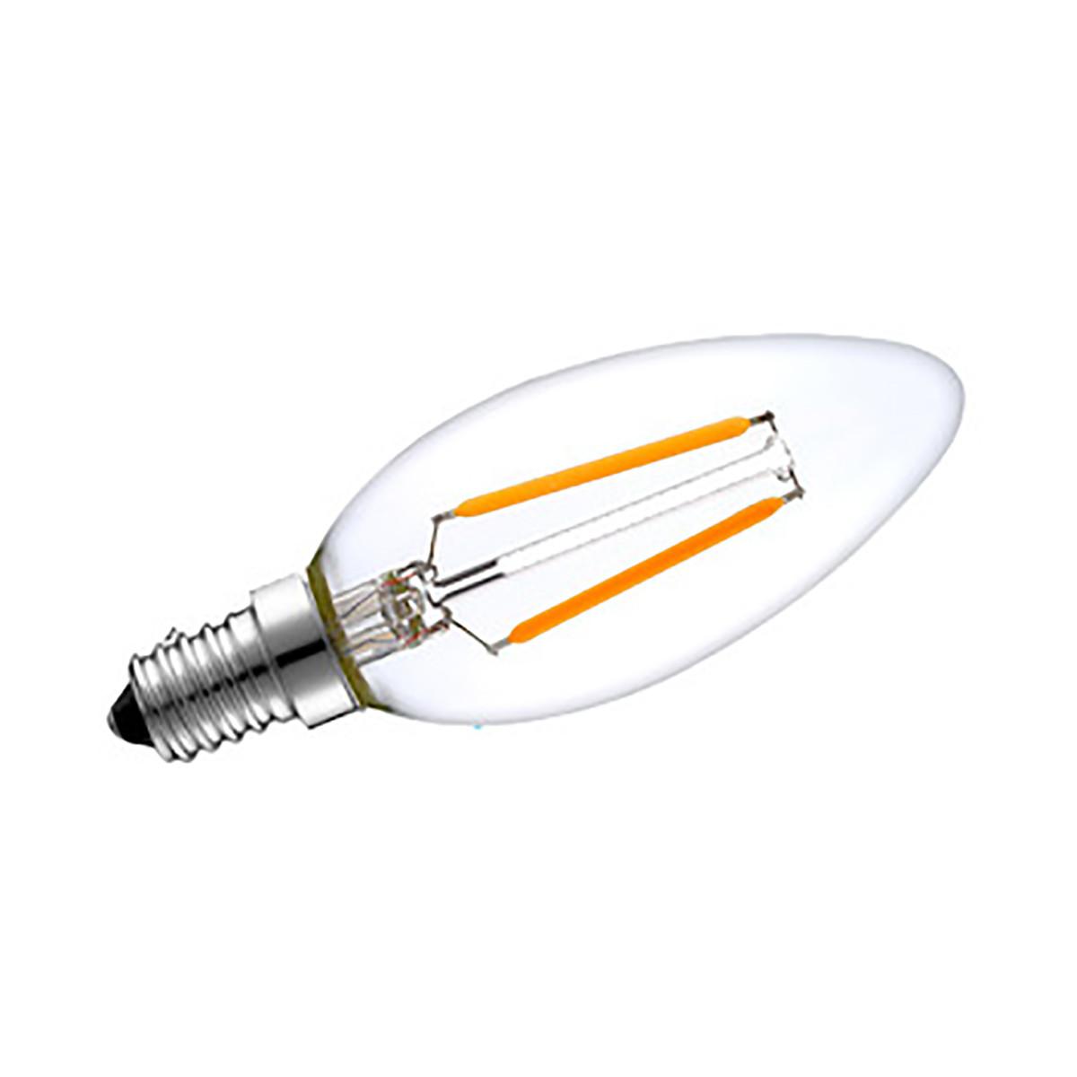 2w Filament Led Candle Light Bulb Light C35 Chandelier