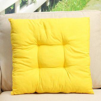 juego de cojines para sillas patio perros y gat amarillo