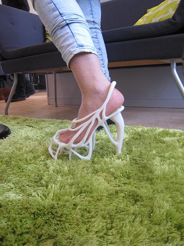 A 'designer' shoe
