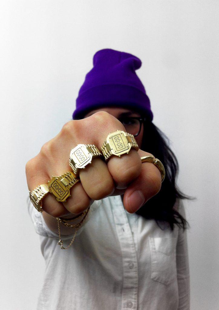 Reytan Rock'o'clock rings