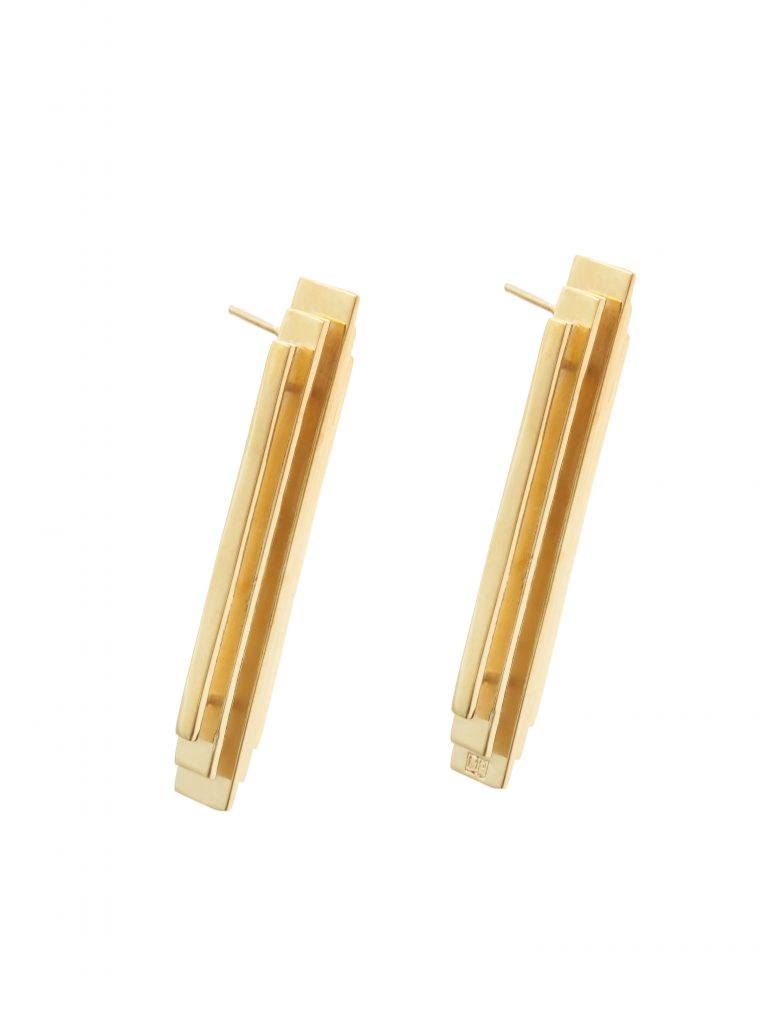 Earrings by Maria Piana