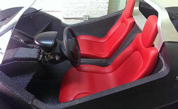3D yazıcı ile üretilen ilk araba!