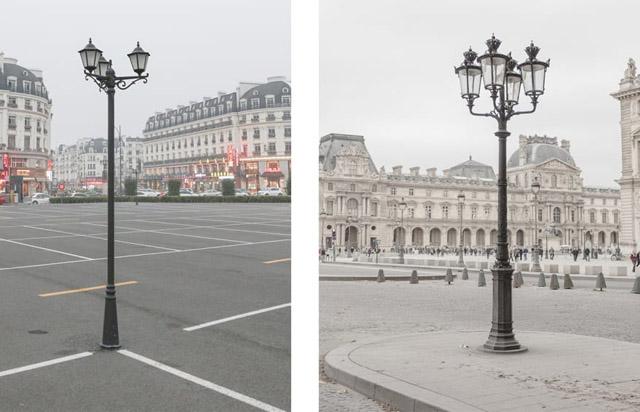 Çin'de bir garip çakma Paris