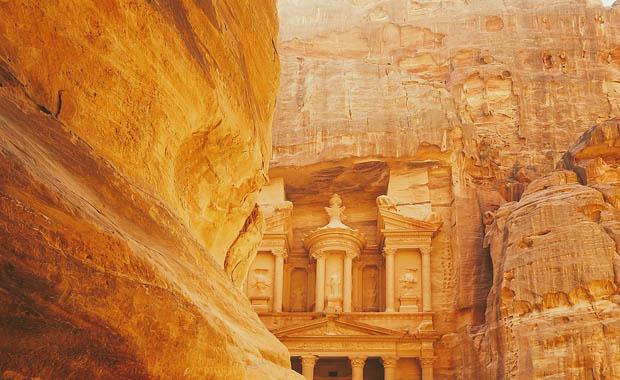 Petra, Ürdün - Dünyanın Yedi Harikası
