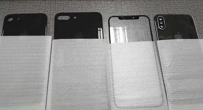 iPhone 8, iPhone 7s ve iPhone 7s Plus'ın panelleri sızdırıldı