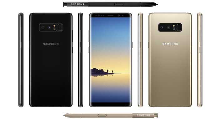 Samsung Galaxy Note 8 böyle görünecek