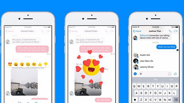 Facebook Messenger'a iki yeni özellik ekleniyor