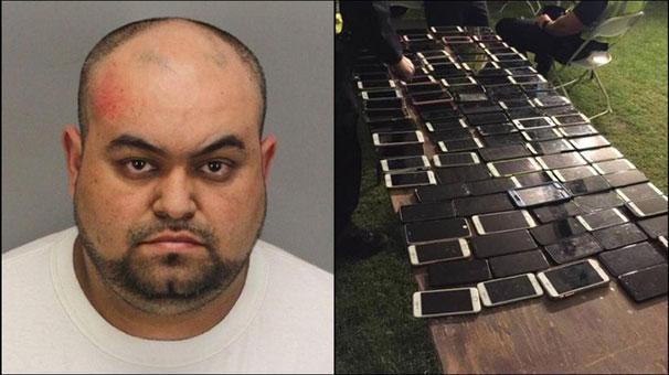 """100'den fazla iPhone çaldı ama """"iPhone'umu Bul"""" sayesinde yakalandı"""