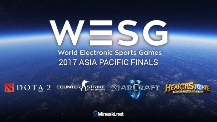 WESG 2017 APAC