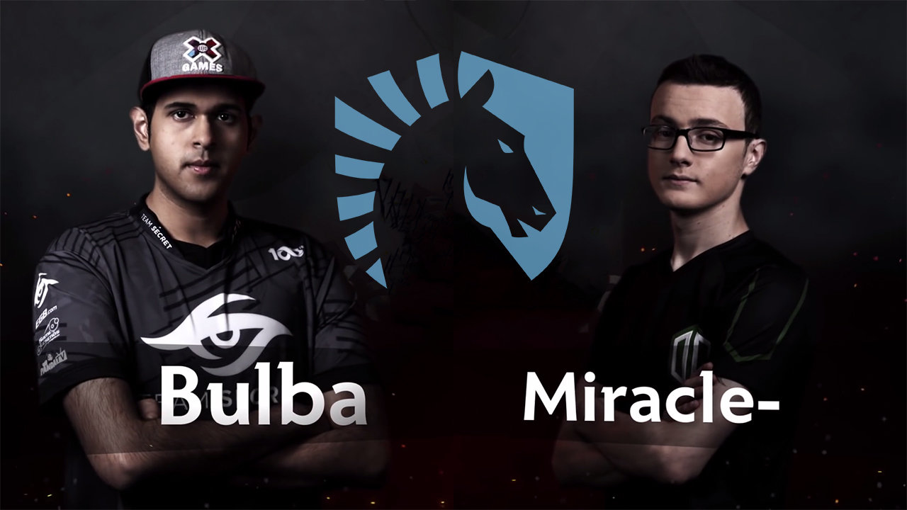 Miracle And BuLba Join Team Liquid
