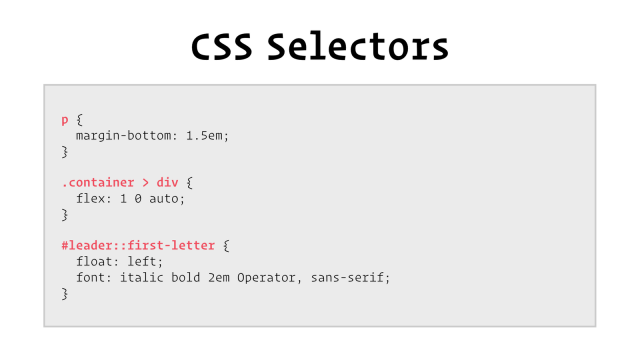 20 powerful CSS selectors that will really help you write clean CSS