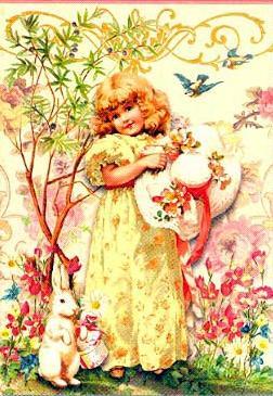 Vintage Victorian Easter Easter