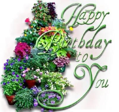Happy Birthday To You Flowers Happy Birthday