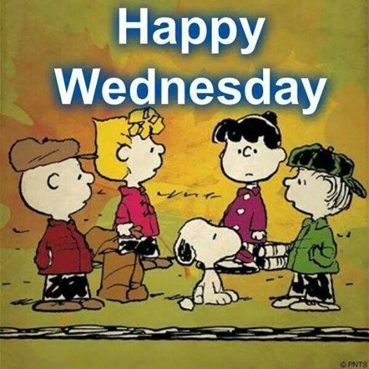 Happy Wednesday Snoopy Wednesday