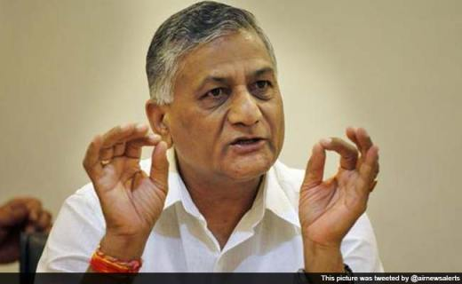 Not Government's Fault If One Stones a Dog: VK Singh on Dalit Children's Killings