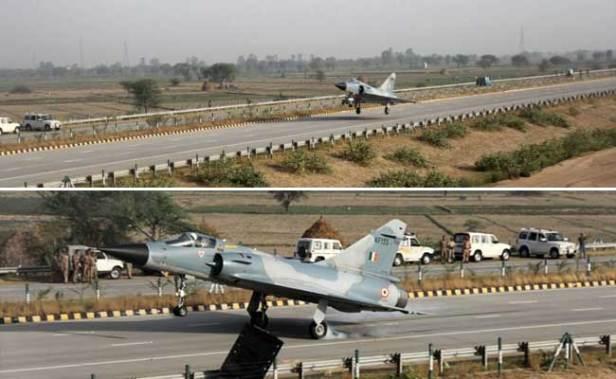 Image result for iaf agra expressway
