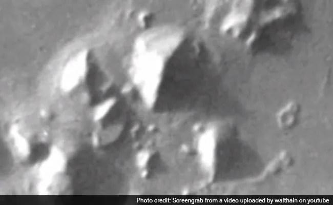 NASA Spots Pyramid-Like Structure on Mars