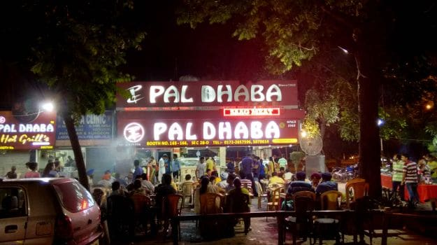 Image result for images of pal dhaba, Chandigarh