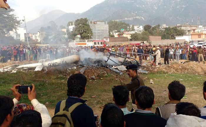 Chopper Carrying Vaishno Devi Pilgrims Crashes in Katra, 7 Dead