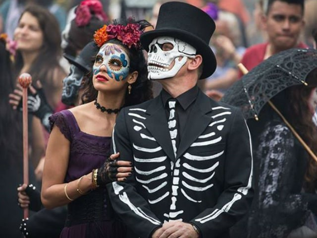 Image result for day of the dead james bond