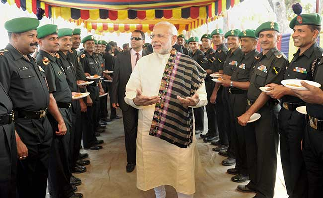 PM Modi Greets People On Diwali, To Spend Festival With Army: Live Updates