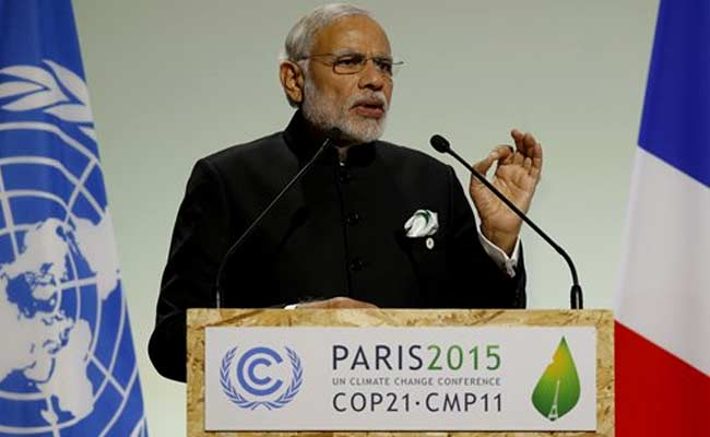 Advanced Nations Should Take Lead, PM Modi Tells Paris Climate Summit