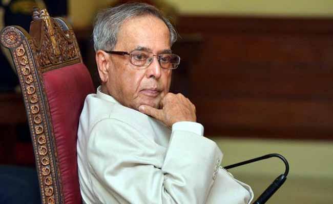 अरुणाचल प्रदेश में राष्ट्रपति शासन पर मुहर, राष्ट्रपति प्रणब मुखर्जी ने दी मंजूरी