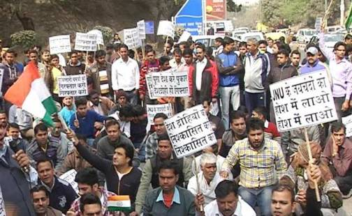 Image result for jnu protest