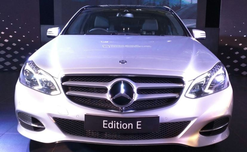 Mercedes Benz E Class Limited Edition Launched In India