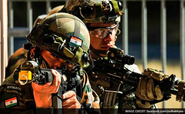 Image result for Indian troops and US troops