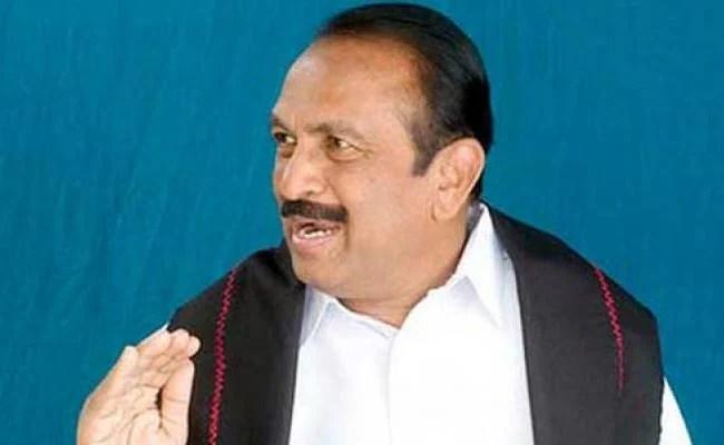 Tamil Politician Vaiko Visits DMK Chief Karunanidhi