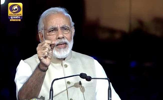जिन्होंने इस देश को लूटा वो इस सरकार को पसंद नहीं करते : मेगा इवेंट में पीएम मोदी