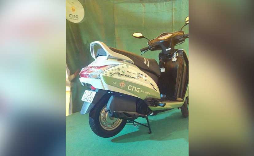 CNG Two Wheelers Prilot Project