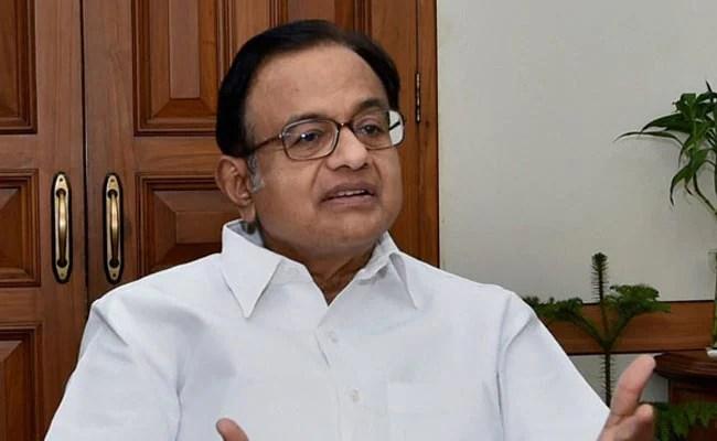 'Shame On RBI': P Chidambaram On Figures Post Notes Ban