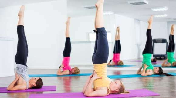 How to do Sarvangasana (The Shoulder Stand): Steps and Benefits - NDTV Food