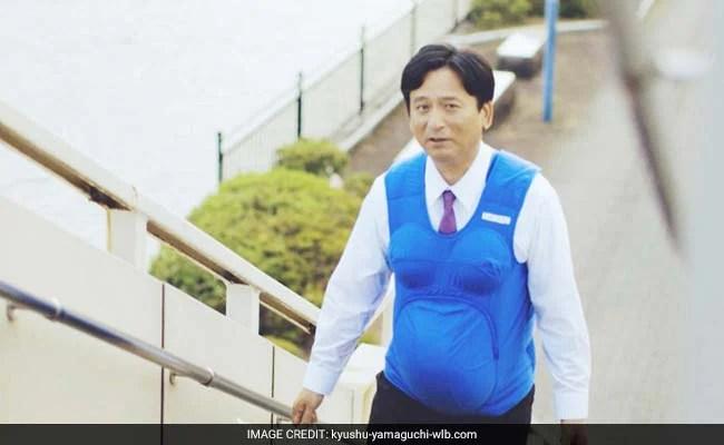 'Pregnant' Male Politicians Lead Japan Housework Drive